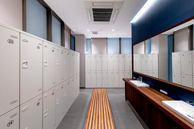 Men locker